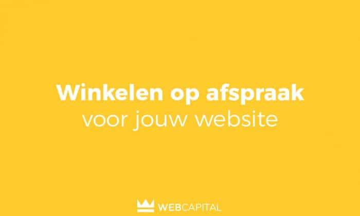 Winkelen op afspraak voor jouw website